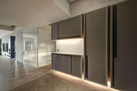 A Decade:  Corridor & hallway by Taipei Base Design Center