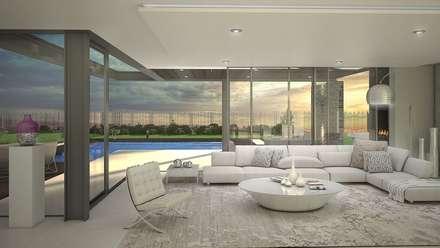 House Maroun - Serengeti Golf Estate - Benoni: modern Houses by House of Gargoyle