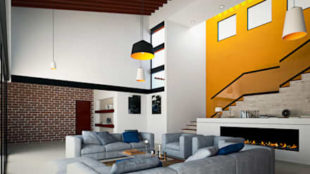 Ruang Keluarga by Laboratorio Mexicano de Arquitectura