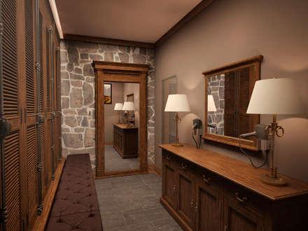 غرفة الملابس تنفيذ Архитектура Интерьера