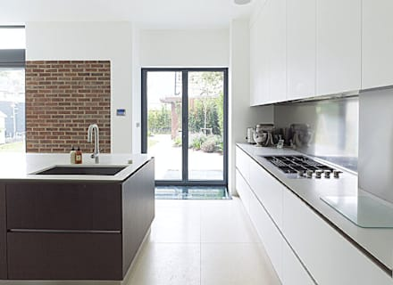 Gallery House on Richmond Park: modern Kitchen by Elemental Architecture