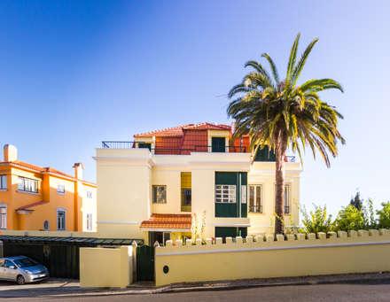 Outside Front 2 : Habitações multifamiliares  por Pedro Brás - Fotografia de Interiores e Arquitectura | Hotelaria | Imobiliárias | Comercial