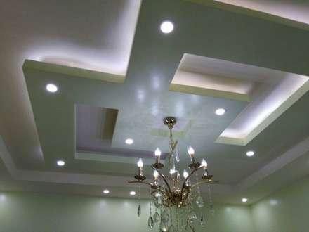 تشطيب شقة بالتجمع الخامس بالقاهرة الجديدة  مع شركة كاسل:  غرفة السفرة تنفيذ Castle