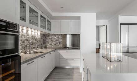 مطبخ تنفيذ 潤澤明亮設計事務所