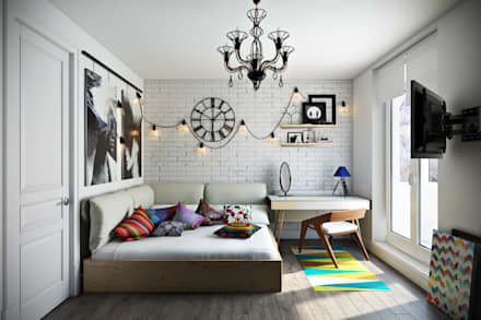 ห้องนอน by Дизайн Мира