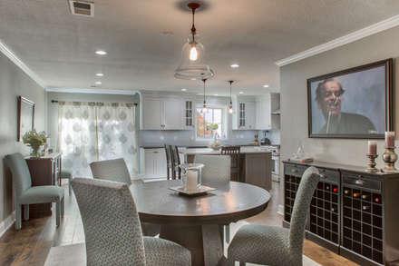 Cherry Creek Town Home : classic Dining room by Studio Design LLC