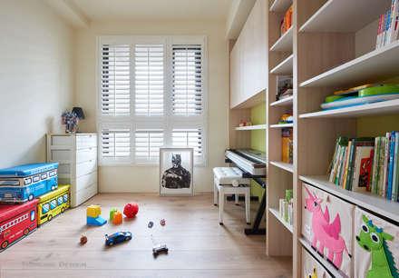 minimalistic Nursery/kid's room by 思維空間設計