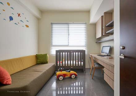 新業雅砌:  嬰兒/兒童房 by 思維空間設計