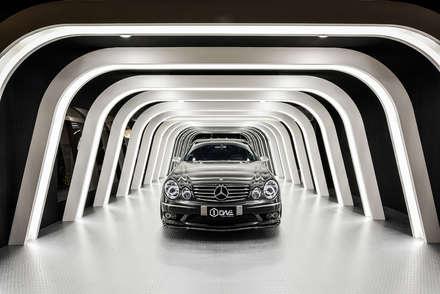 商空 │ ONE car's coating:  汽車交易商 by 匯羽設計 / Hui-yu Interior design