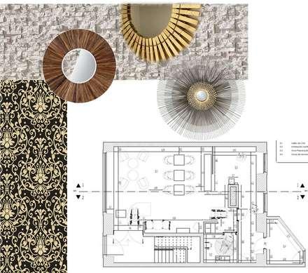 CASA DE CHÁ  -  Planta: Bares e clubes  por EGO Interior Design