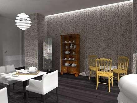 CASA DE CHÁ: Bares e clubes  por EGO Interior Design