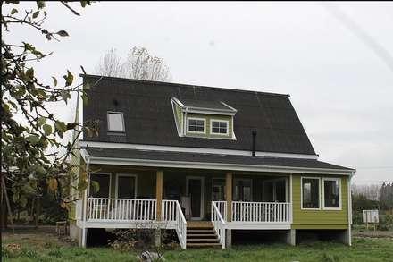 Casa Stehr: Casas de estilo rural por Kanda arquitectos