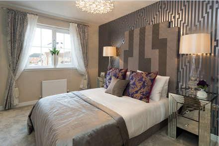 Take a step into luxury each day..: modern Bedroom by Graeme Fuller Design Ltd
