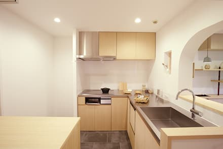 RIVA海老園 TYPE-A: SWITCH&Co.が手掛けたキッチンです。
