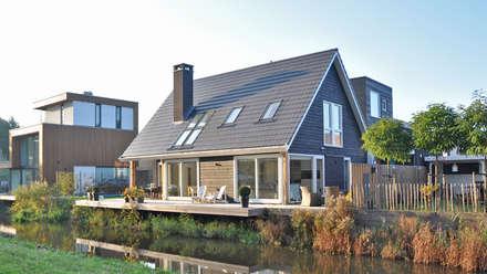 Eigentijdse woning Den-Haag: moderne Huizen door Bongers Architecten