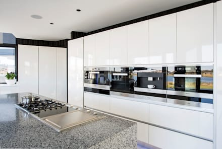 ultra modern residence modern kitchen by francois marais architects - Moderne Kchen