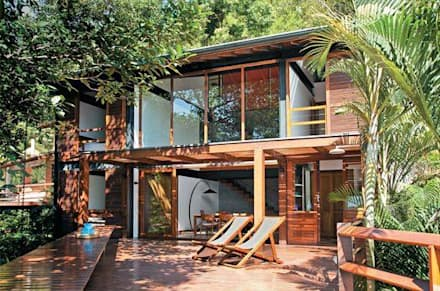 Casa Container Brasil - Projetos: Casas modernas por Casa Container Brasil