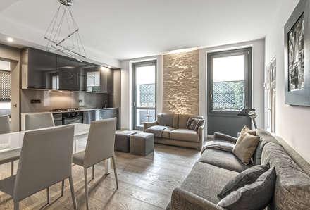 Soggiorno idee immagini e decorazione homify for Idee quadri soggiorno