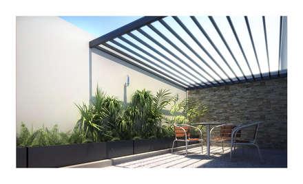 Terraza Cervantes: Terrazas de estilo  por DAR Arquitectos