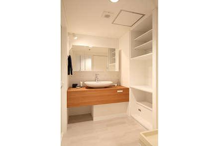 RIVA海老園 TYPE-B: SWITCH&Co.が手掛けた浴室です。
