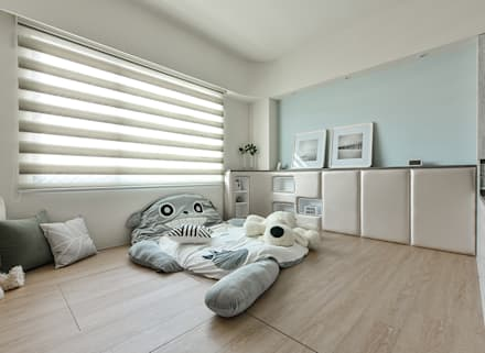 modern Nursery/kid's room by 皇室空間室內設計