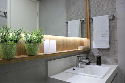 : Banheiros modernos por Drömma Arquitetura