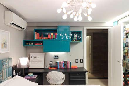 Quarto da filha: Quartos  por Nogueira Arquitetura e Interiores
