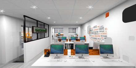 : Estudios y despachos de estilo moderno por Gamma