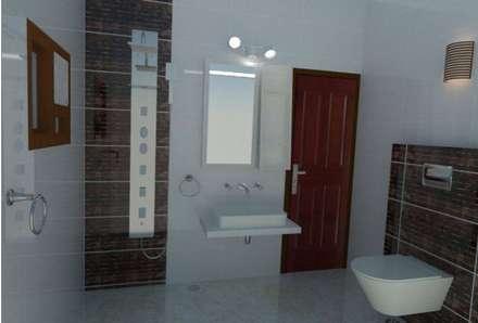asiatische Badezimmer von 4 Lotus Interior
