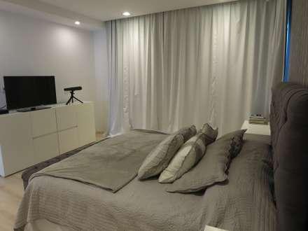 Casa LR4546: Dormitorios de estilo minimalista por MARIA NIGRO ARQUITECTA