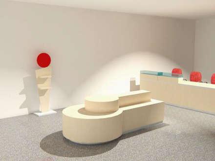 Render de Proyecto : Oficinas y Tiendas de estilo  por Sml Design