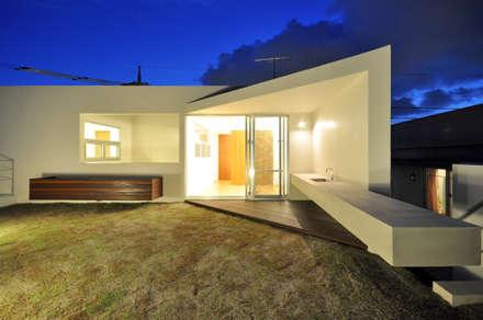 YSM-HOUSE: 門一級建築士事務所が手掛けた庭です。