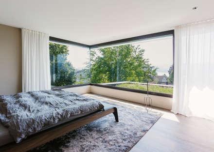 Objekt 336: moderne Schlafzimmer von meier architekten