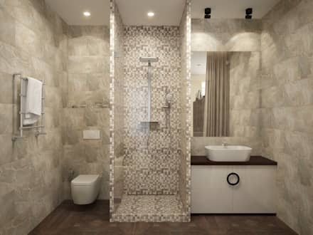 Modern Style Bathroom modern style bathroom - interior design