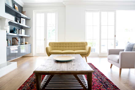 House Oranjezicht: scandinavian Living room by ATTIK Design