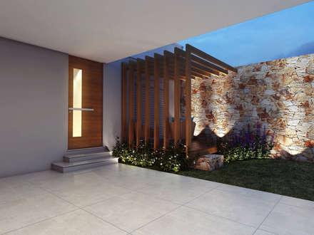 Casa WW : Casas modernas por canatelli arquitetura e design