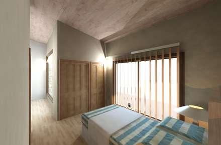 Dormitorio 02: Cuartos de estilo moderno por Diseño Store