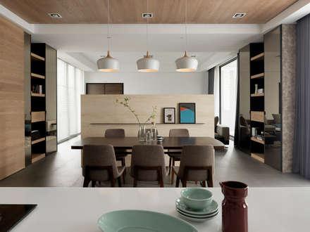 ห้องทานข้าว by 夏沐森山設計整合