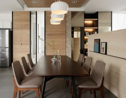 Four season house:  餐廳 by 夏沐森山設計整合