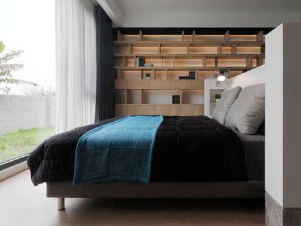 ห้องนอน by 夏沐森山設計整合