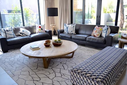 Living room - Steyn City : modern Living room by Nowadays Interiors