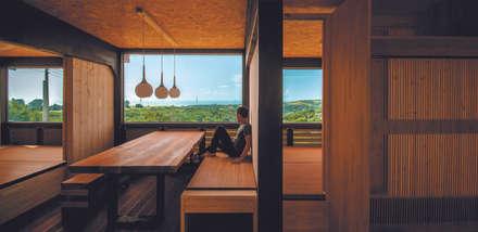 [ 行動木屋 ] Qfarm:  餐廳 by FAMWOOD 自然紅屋