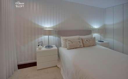 2015, Decoração de Apartamento BI: Quartos minimalistas por B.loft