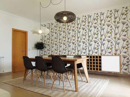 Salas de jantar escandinavas por homify