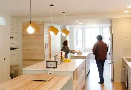 New Edinburgh Renovations: scandinavian Kitchen by Jane Thompson Architect