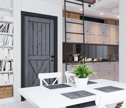 Дом для ПМЖ всего 67 кв.м.: Кухни в . Автор – Home in the Woods