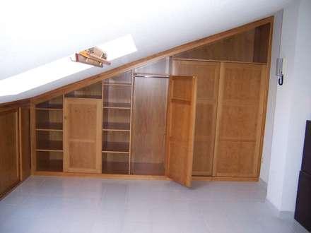 Muestra mueble anterior: Vestidores de estilo ecléctico de la alacena segoviana s.l