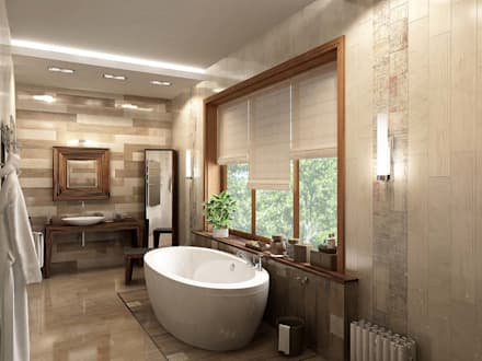 Baños de estilo topical por LEO Company