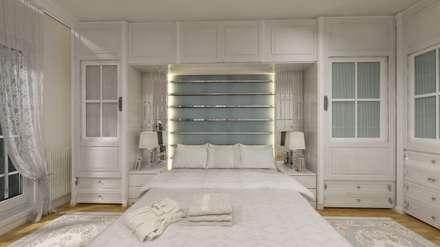 Altuncu İç Mimari Dekorasyon – İnnovia 2 yatak odası tasarımı: modern tarz Yatak Odası