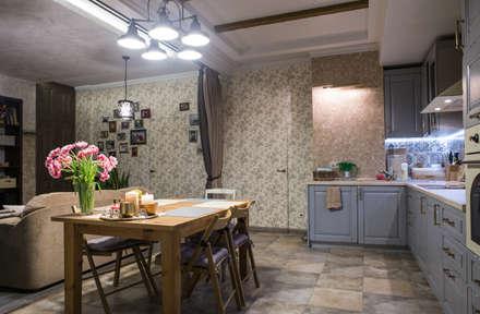 Берлога Олеси: Кухни в . Автор – АртЭрия